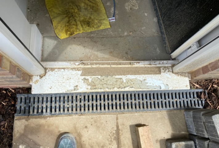 threshold repair after